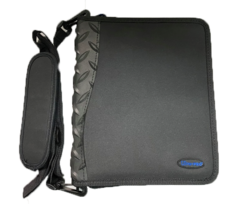 Ultra Pro - 2 Ring Zipper Binder with Carrying Strap