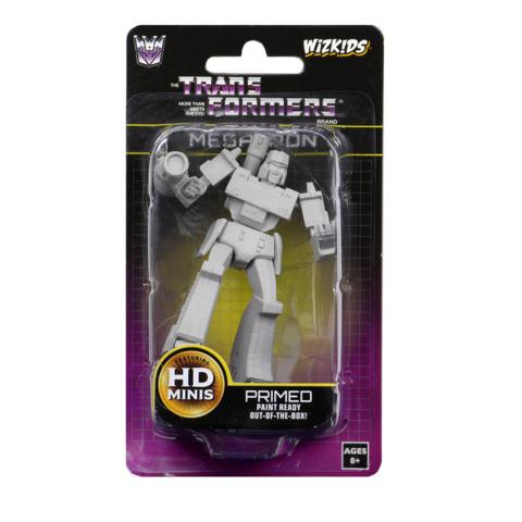 Transformers Deep Cuts - Unpainted Miniatures - Megatron