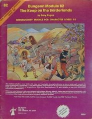 D&D Basic Set Dungeon Module B2 - Damaged