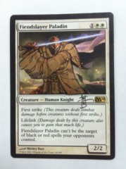 Fiendslayer Paladin [C](Altered and Signed by RK Post)