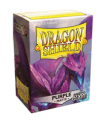 Dragon Shield - Standard - 100ct - Non Glare Matte - Purple