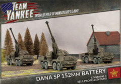 DANA SP 152mm Battery