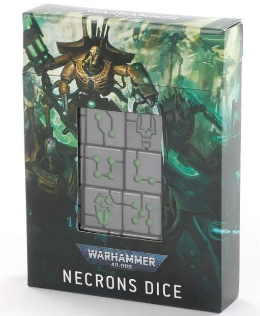 Warhammer 40K - Necrons Dice Set