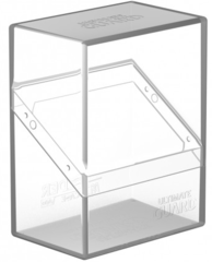 Ultimate Guard - Boulder Deck Box - 60ct - Clear