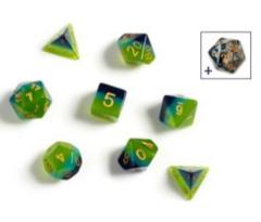 SIRIUS - GREEN BLUE TRANSLUCENT 7 DIE SET