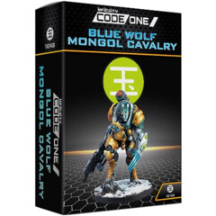 Infinity Code One: Blue Wolf Mongol Cavalry