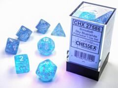 CHX: 27585 Luminary Teal/Gold Polyhedral 7-Die Set