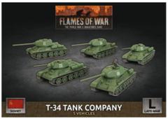 SBX66 T-34 Tank Company (Plastic)