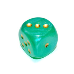 30mm D6 Borealis Green/Gold