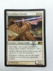 Fiendslayer Paladin [D](Altered and Signed by RK Post)