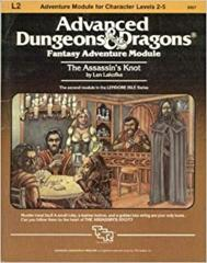 ADV D&D Dungeon Module L2 - Light Play