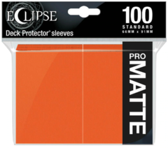 Ultra Pro - Standard Deck Protectors: Eclipse Pro-Gloss Pumpkin Orange 100 ct