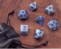 Blue Jasper 14mm Dwarven Stones