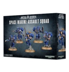 Adeptus Astartes Space Marine Assault Squad
