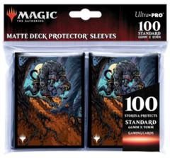 Ultra Pro - MTG: Innistrad: Midnight Hunt ChromaFusion 100ct Sleeves V1 - UPR18823