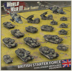 British Starter Force - Challenger Armoured Squadron
