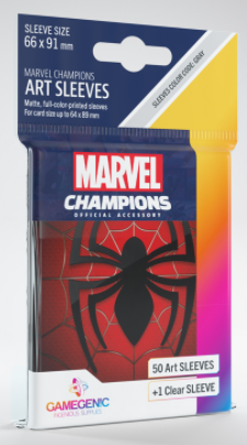 Marvel Champions Art Sleeves - Spider man
