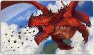 P34 Red Dragon Playmat
