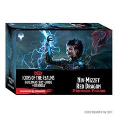 D&D Icons Of The Realms Ravnica Niv-Mizzet Red Dragon Premium Figure