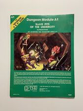 Adv. D&D Dungeon Module A1 - Moderate Play