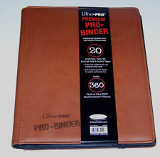Ultra Pro - Premium Pro Binder BROWN