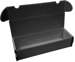 Comic Pro Line - Plastic Storage Box - 650 Count - Black