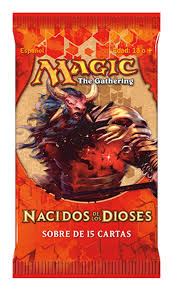 Born of the Gods Booster Pack Spanish