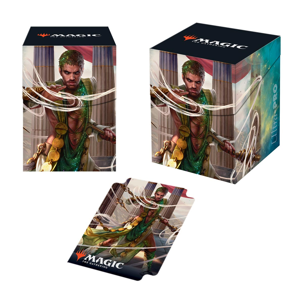 Theros Beyond Death Calix, Destinys Hand PRO 100+ Deck Box for Magic: The Gathering