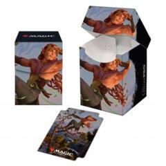 Kaldheim 100+ Deck Box featuring Tyvar Kell for Magic: The Gathering