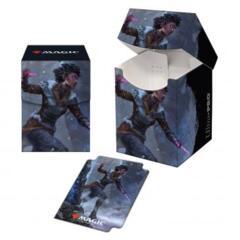 Kaldheim 100+ Deck Box featuring Kaya the Inexorable for Magic: The Gathering