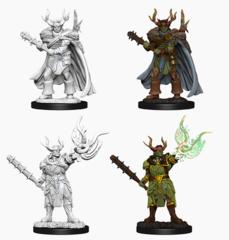 Pathfinder Deep Cuts - Male Half-Orc Druid