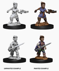 Pathfinder Unpainted Minis - Wave 8 - Female Halfling Rogue