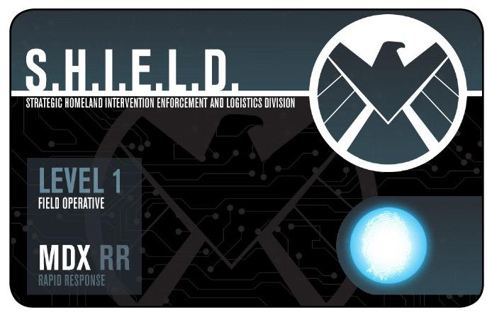 S H I E L D  Level 1 Field Operative (NFID-008) - Minature