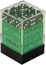 Chessex 25925 Dice d6 Set: Recon Speckled - 12mm Six Sided Die (36) Block of Dice