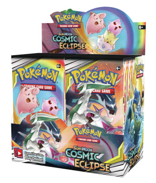 Sun & Moon - Cosmic Eclipse Booster Box