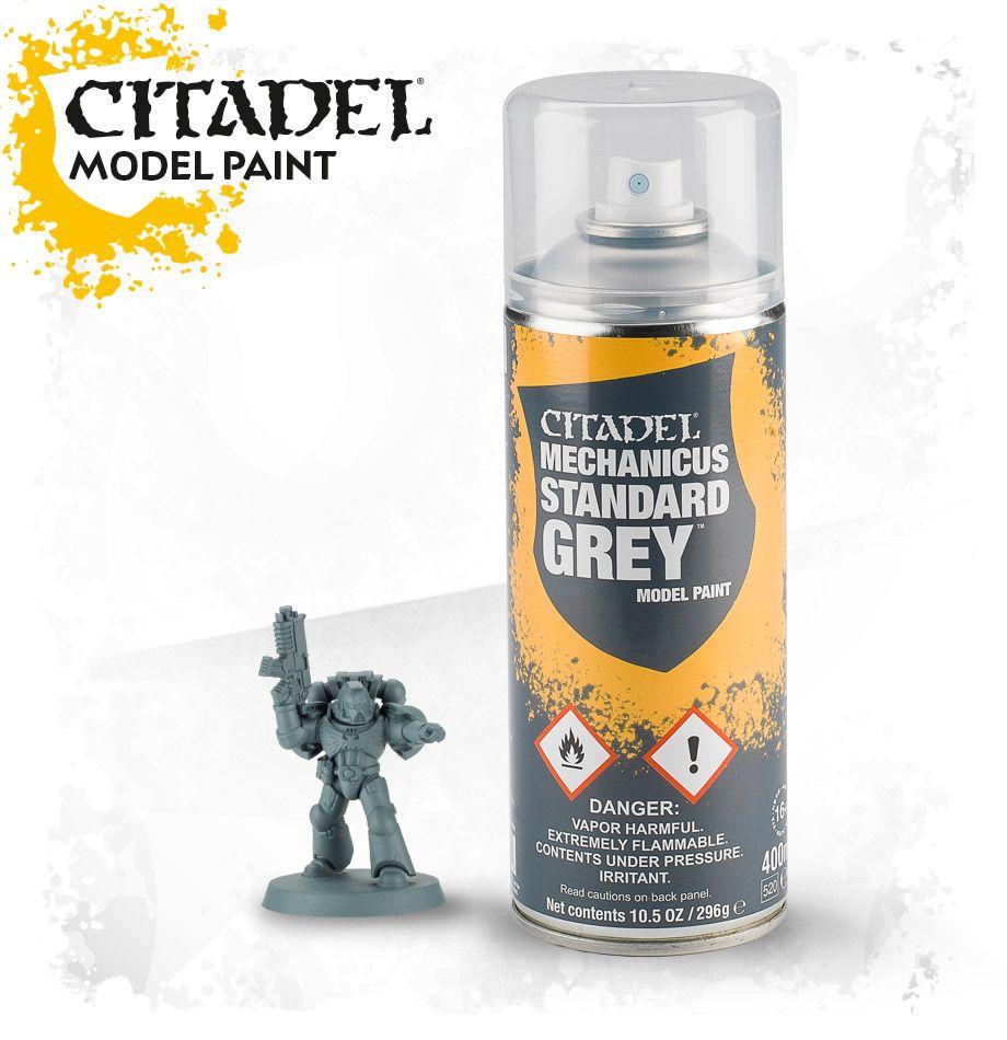Spray: Mechanicus Standard Grey