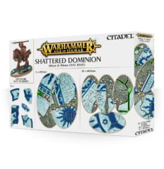 Age of Sigmar Shattered Dominion - 60mm &90mm Oval Bases