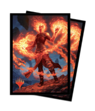 Ultra Pro - MTG Core Set 2020 - Chandra, Awakened Inferno Sleeves v4