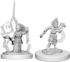 Pathfinder Unpainted Minis - Wave 5 - Gnome Female Druid