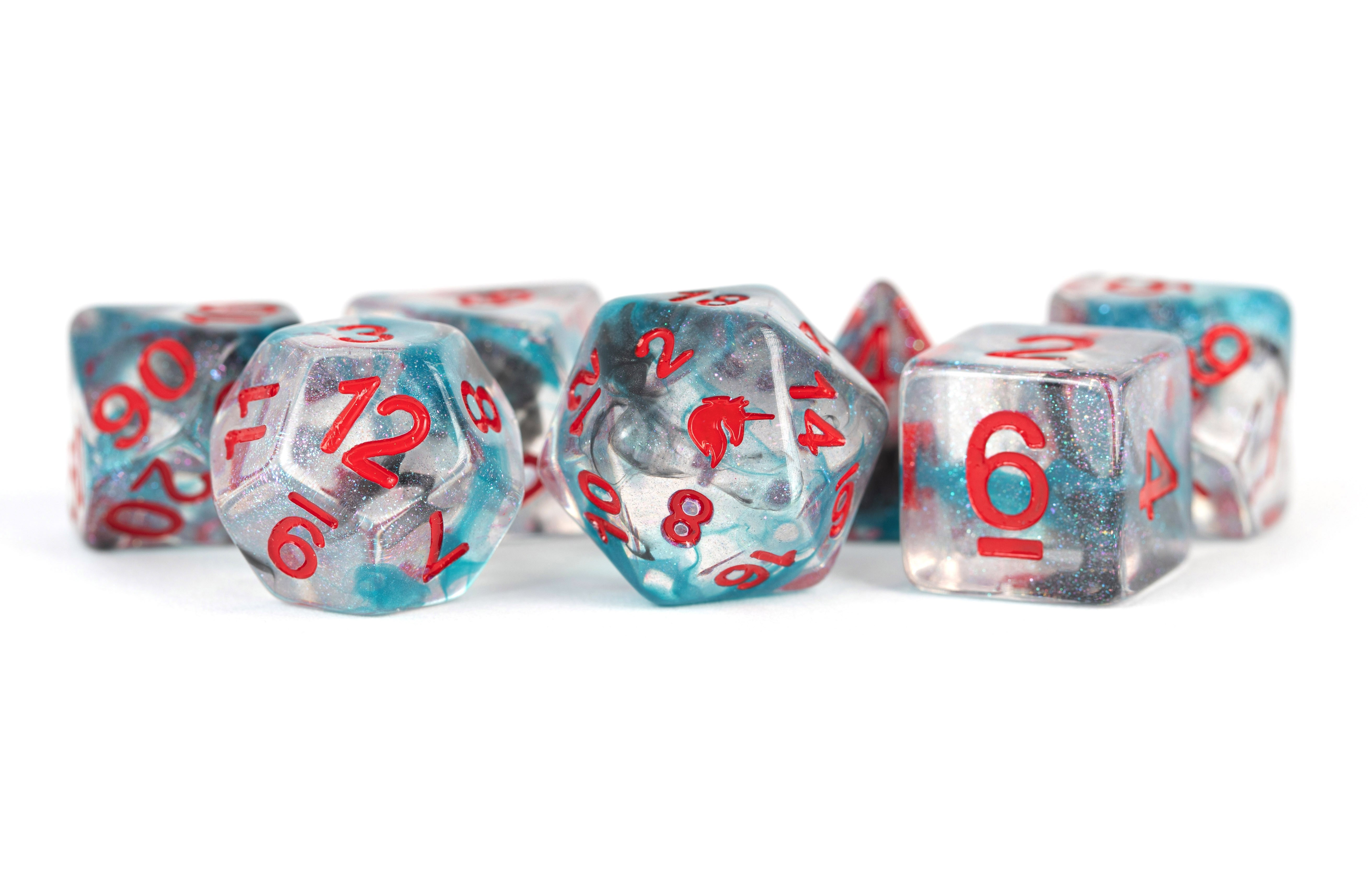 Battle Wounds 16mm Poly Dice Set