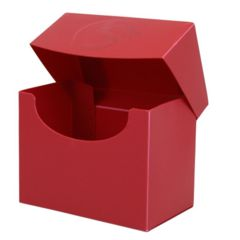 BCW - Deck Case - Side Loading - 80ct - Red