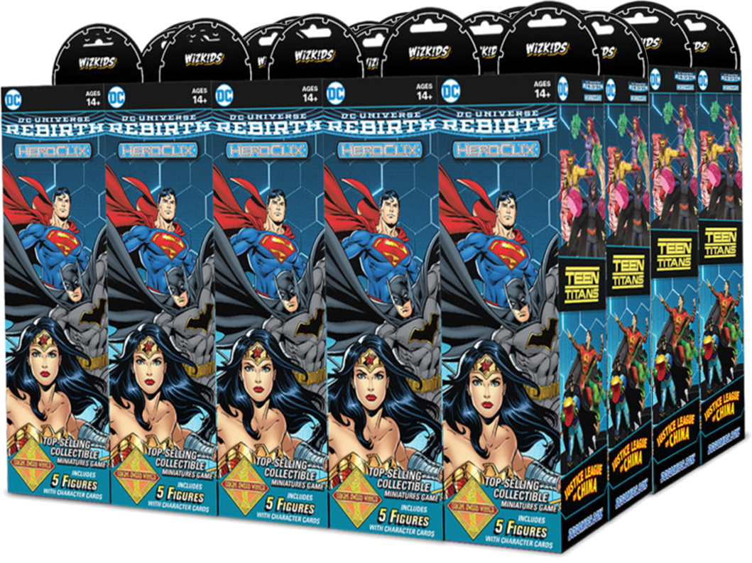 DC HeroClix: DC Rebirth Booster Case