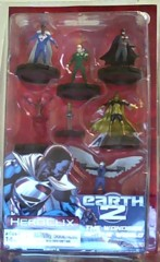 DC HeroClix: Earth 2 Superman/Wonder Woman Fast Forces Pack