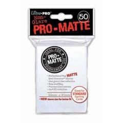 Ultra PRO - Standard - 50ct - PRO Matte - White