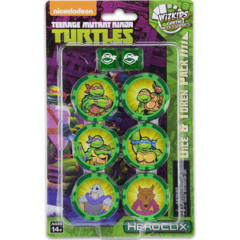 Teenage Mutant Ninja Turtles:  Dice and Token Pack