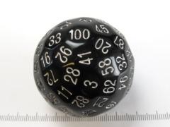 D100 Dice [Black]