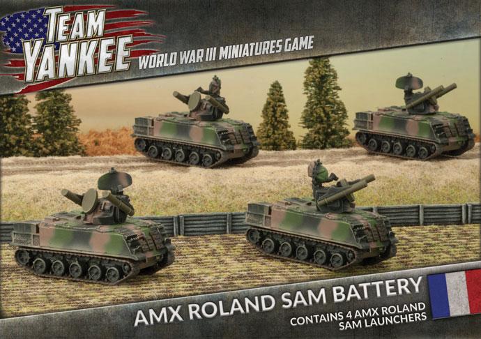 AMX Roland SAM Battery