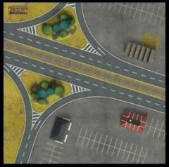 Berlin Autobahn Gaming Mat 36