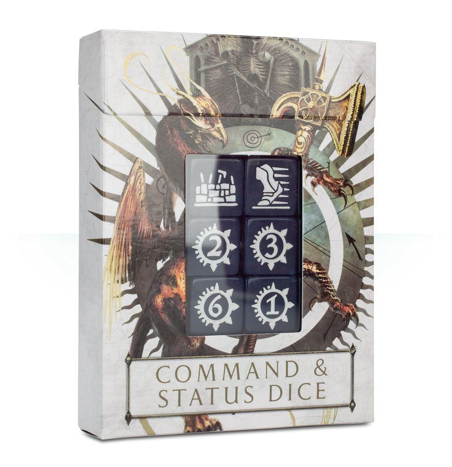 Age of Sigmar - Command & Status Dice