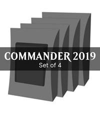 Commander 2019 - Set of 4